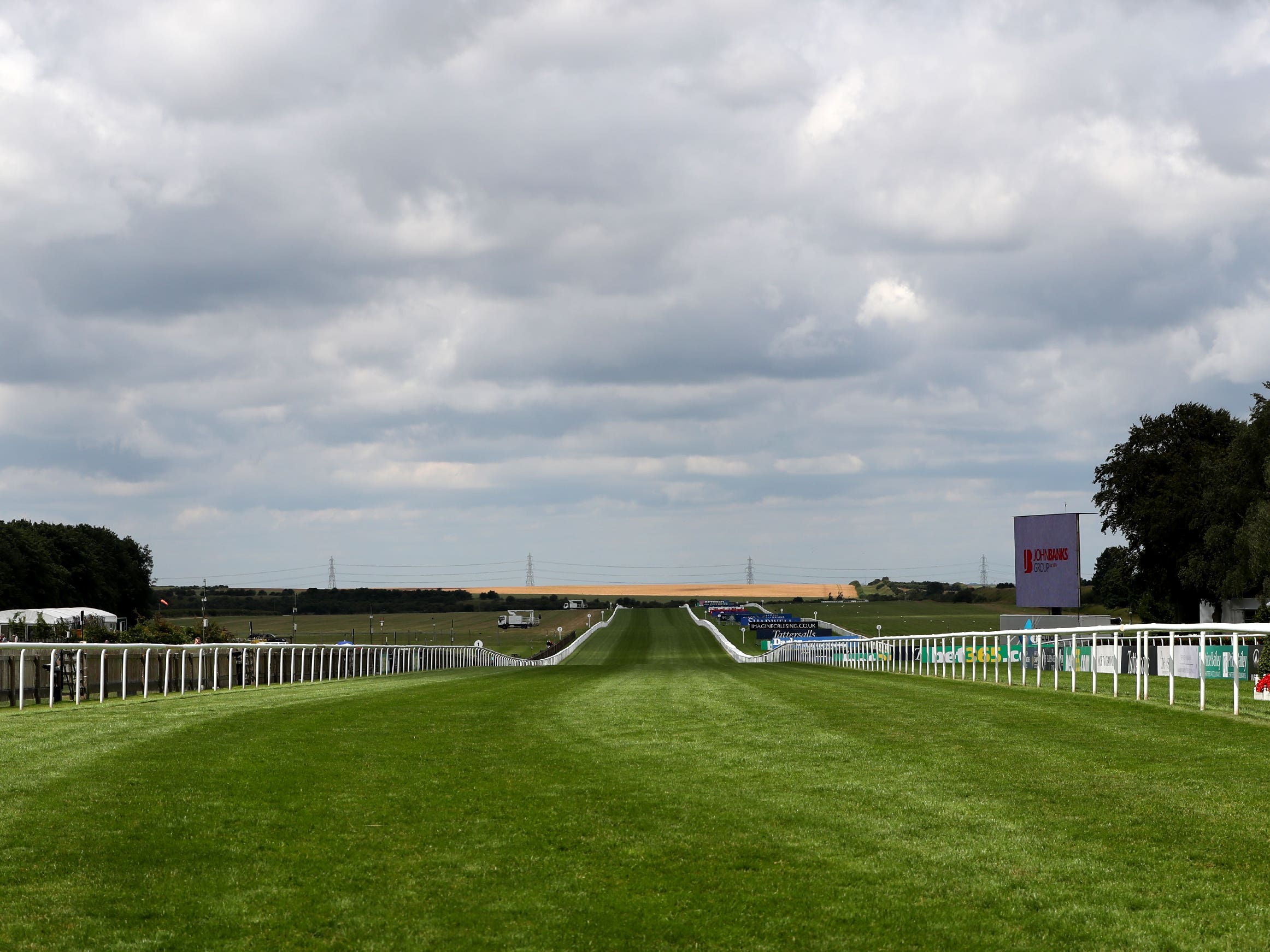The July Course hosts the Newmarket sprint feature (Simon Cooper/PA)