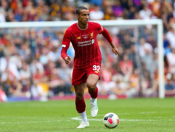 Joel Matip looks like he will get the nod to be Virgil Van Dijk's centre-back partner