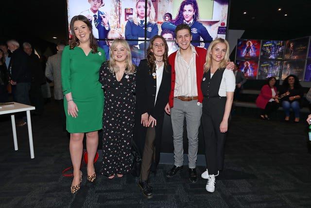 Derry Girls premiere – Londonderry