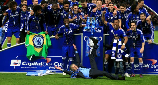 Soccer – Capital One Cup – Final – Chelsea v Tottenham Hotspur – Wembley Stadium