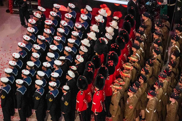 Royal British Legion Festival of Remembrance 2019