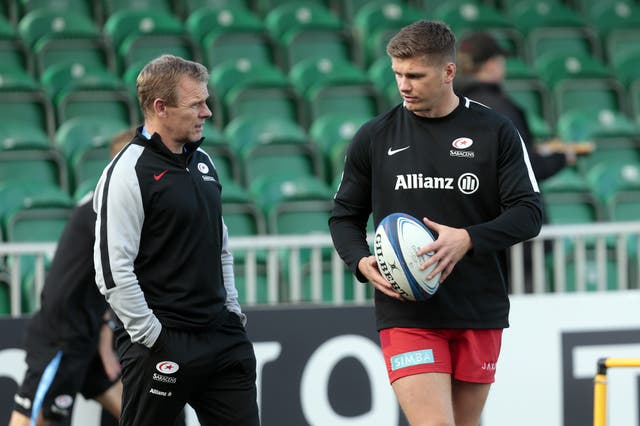 Mark McCall discussed Owen Farrell's return to action