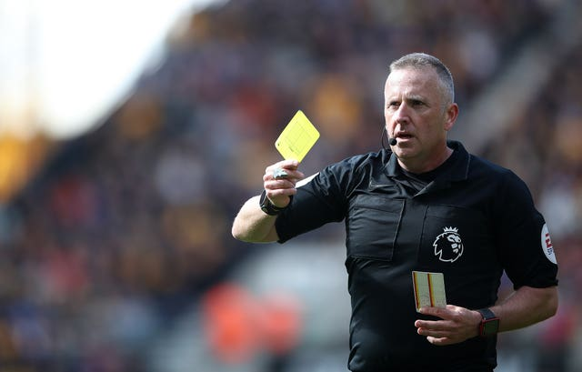 Yellow cards could be handed out for spitting