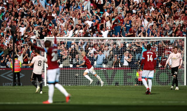 Manchester United were beaten 3-1 at West Ham last September