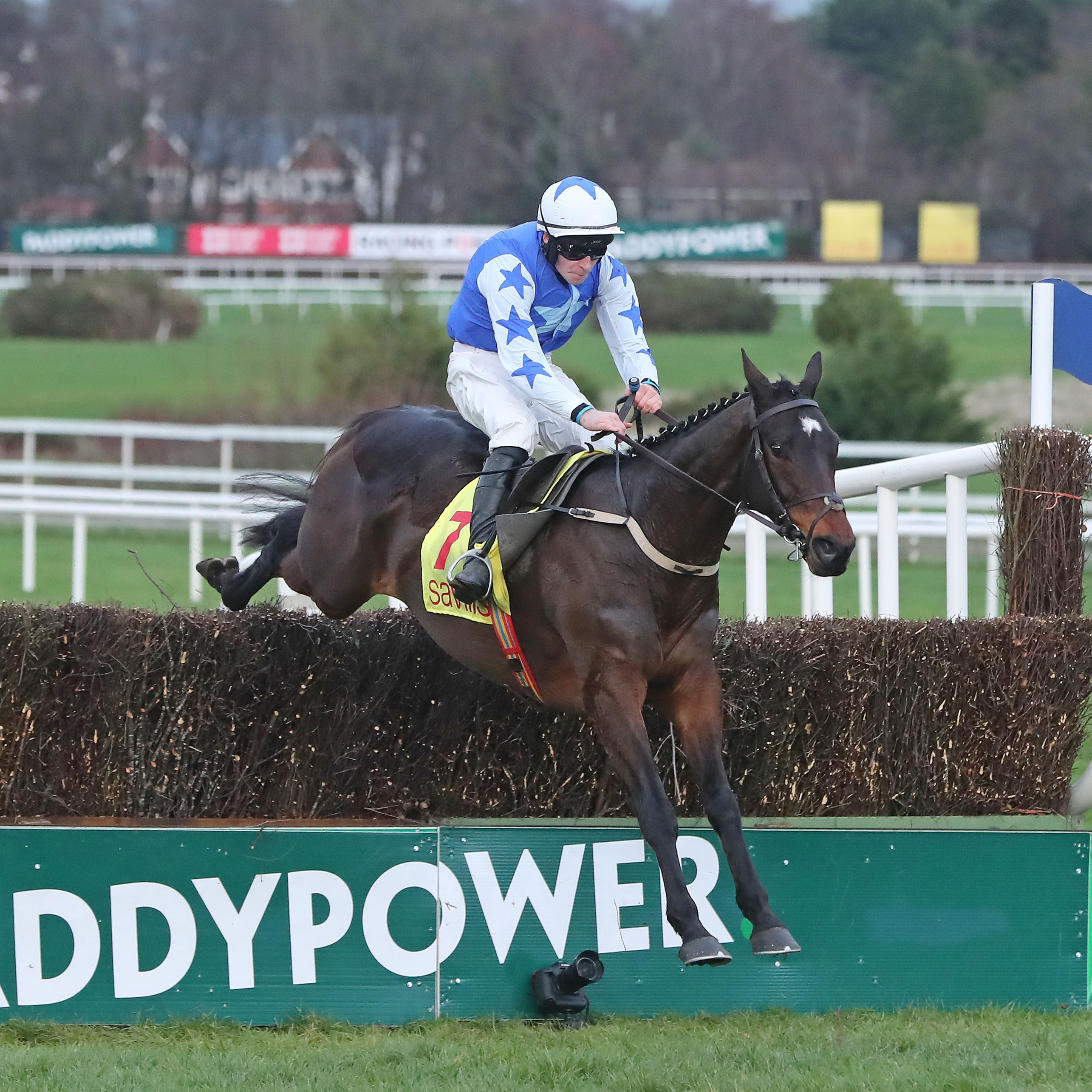 Kemboy on his way to winning the Savills Chase