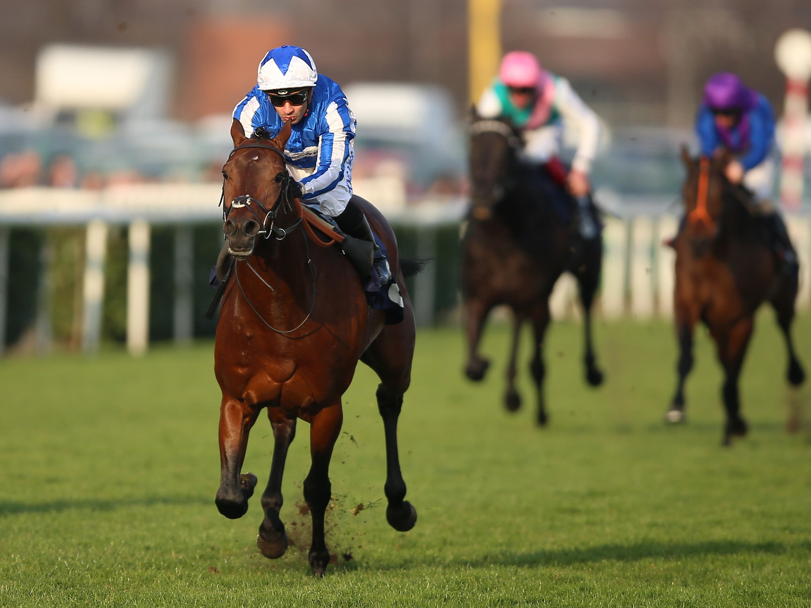 Bangkok's form at Doncaster is working out well (Nigel French/PA)