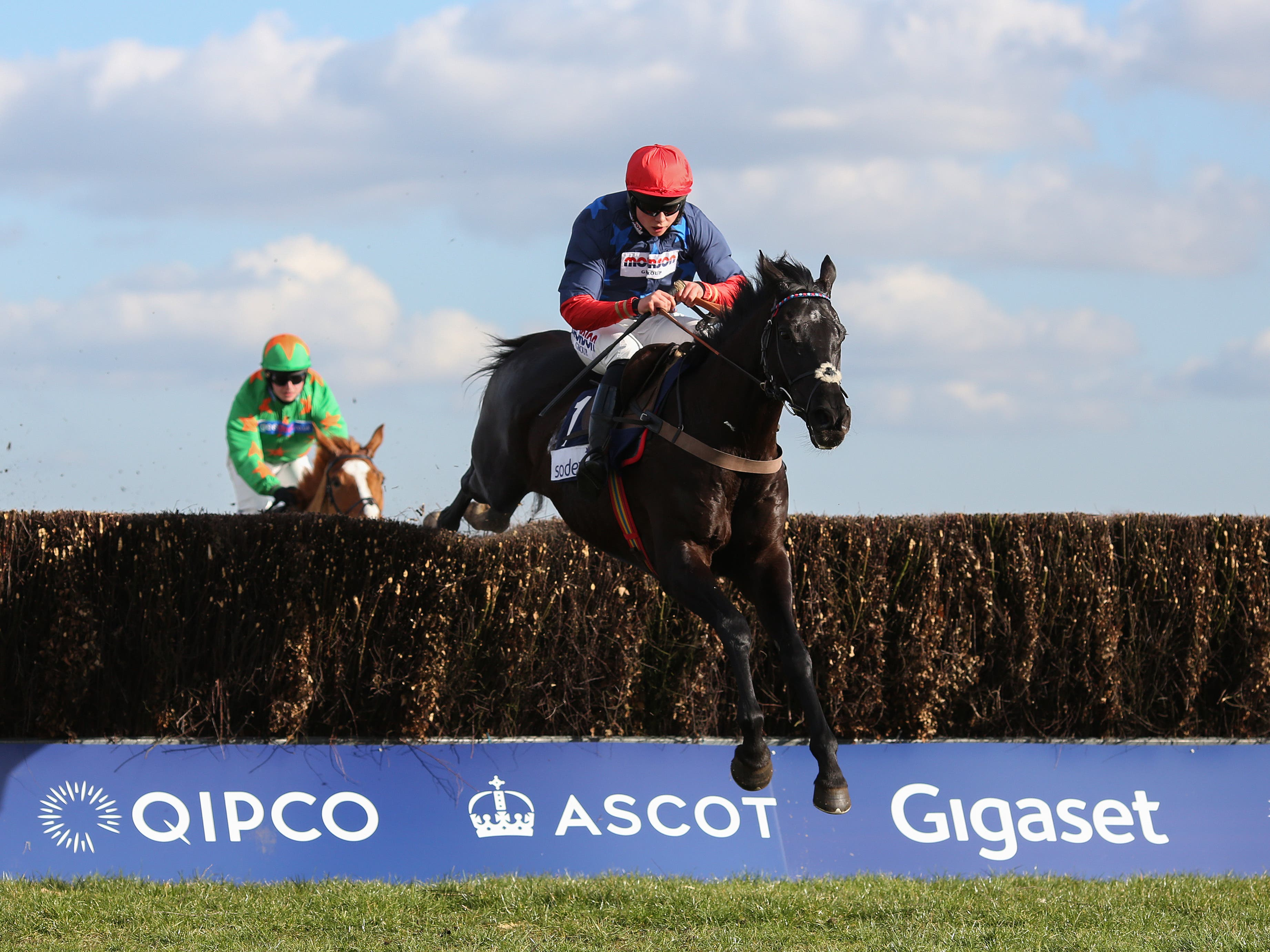 Black Corton and Bryony Frost have struck up a great partnership (Julian Herbert/PA)