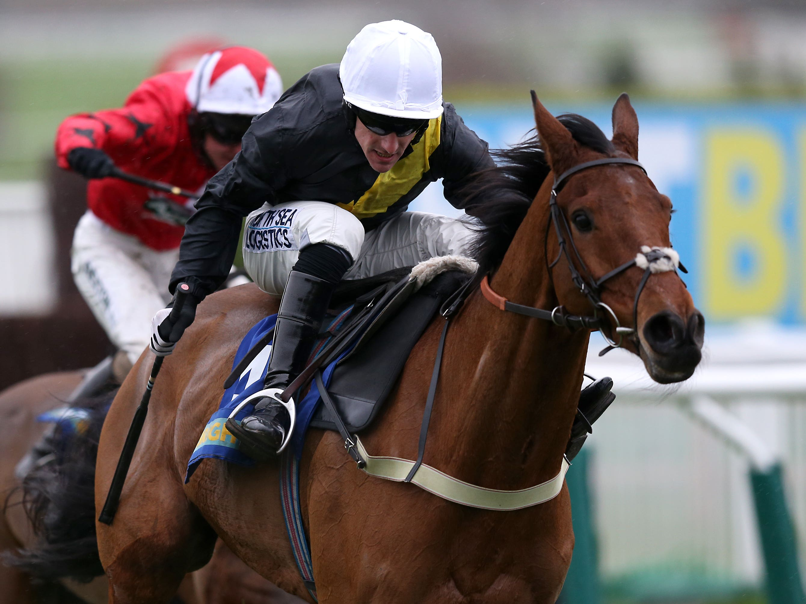 Seeyouatmidnight winning at Cheltenham (Simon Cooper/PA)