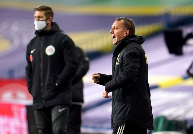 It was a good night's work for Brendan Rodgers
