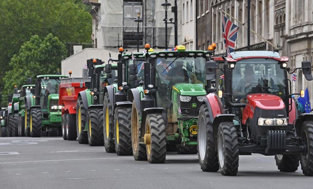 Save British Farming protest