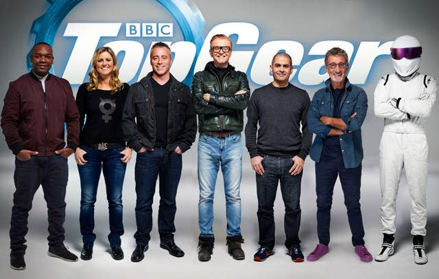 Top Gear's new line-up for 2016