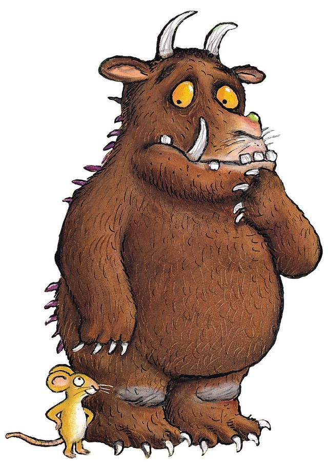 The Alex Scheffler illustration of Julia Donaldson's Gruffalo
