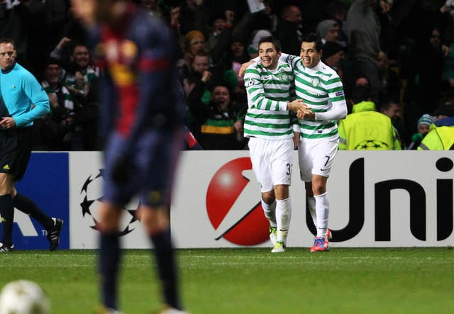 Soccer – UEFA Champions League – Group G – Celtic v Barcelona – Celtic Park