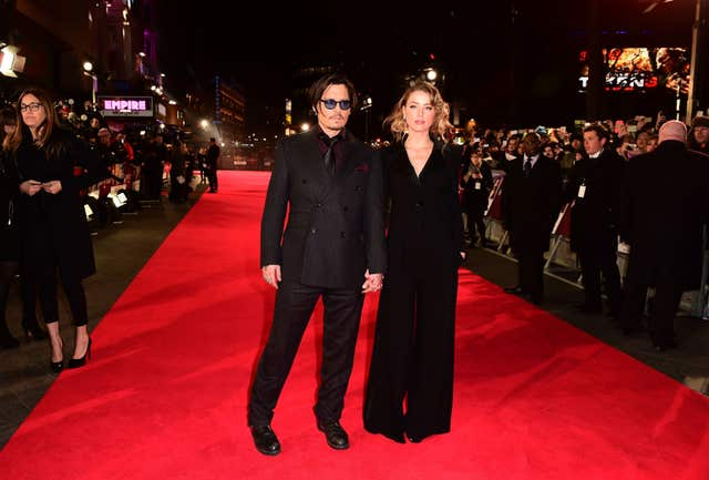 Mortdecai premiere – London