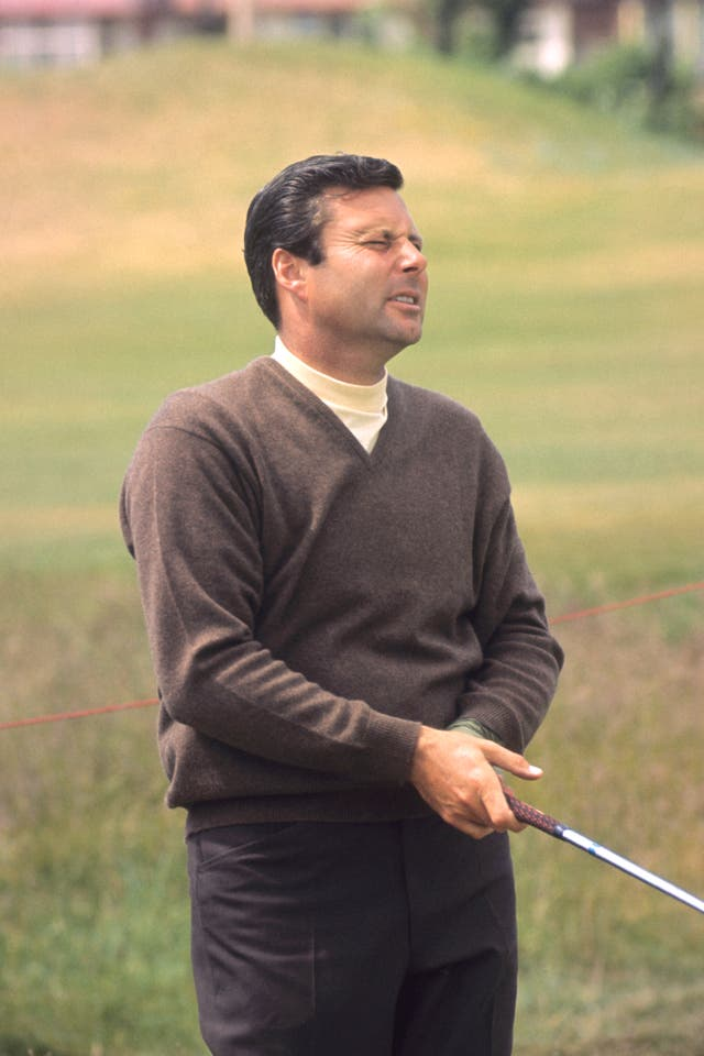 Both Peter Alliss (pictured) and his father Percy were notable golfers