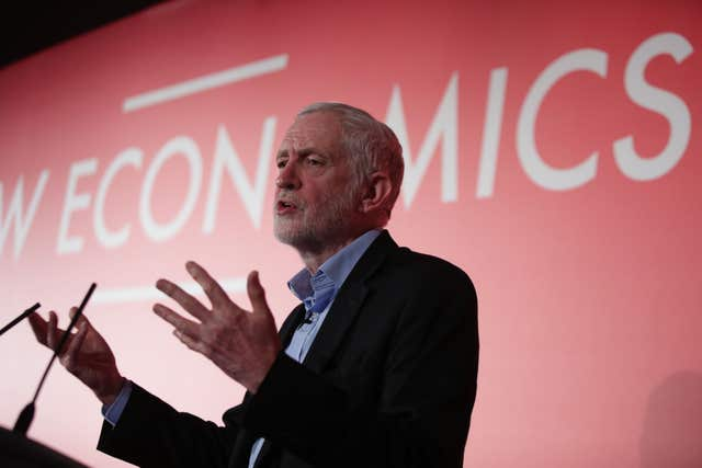 Mr Corbyn said every part of Scotland is being failed economically