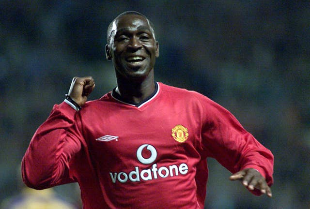 Andy Cole scored 121 goals in 275 appearances for Manchester United