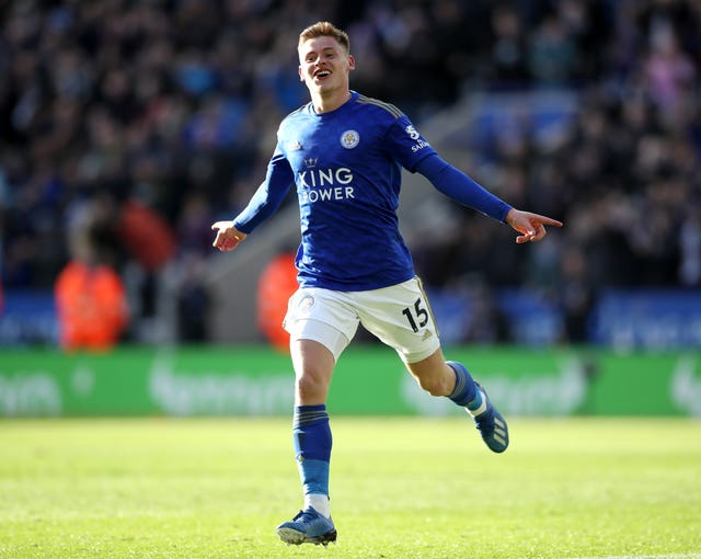 Harvey Barnes scored Leicester's first goal