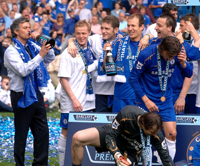 Chelsea retained the title the following season
