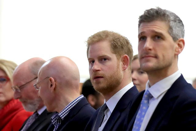 Duke of Sussex at the Veterans Mental Health Conference