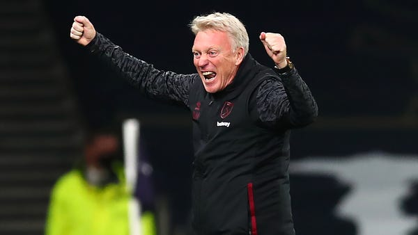 West Ham boss David Moyes welcomes fans back for Manchester United match