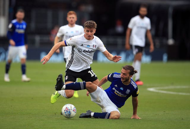Fulham's Tom Cairney has bounced back after the disappointment of relegation from the Premier League