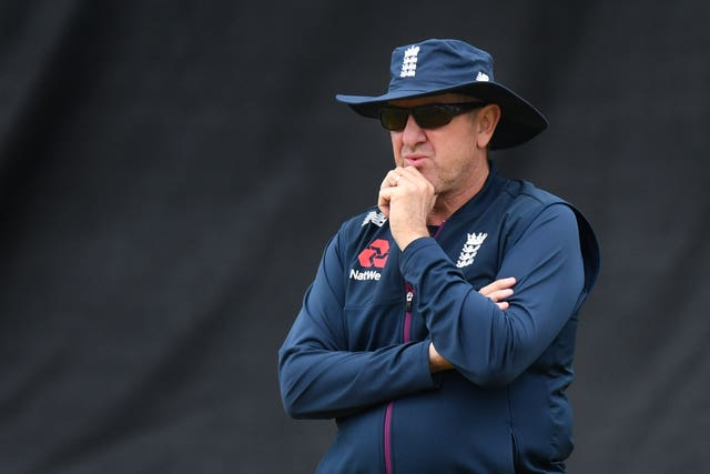 Trevor Bayliss admitted he was concerned about England's prospects after two days of the Test