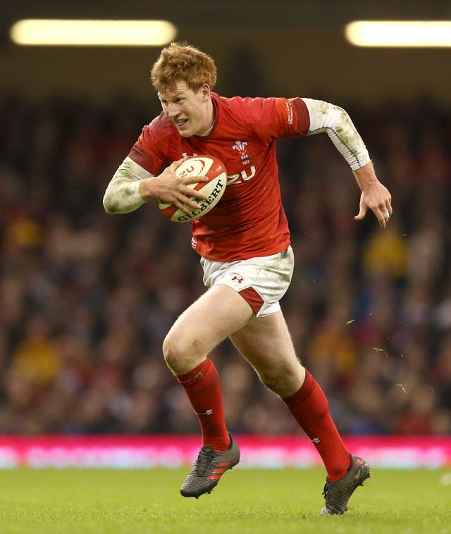 Rhys Patchell is sidelined due to concussion (Paul Hardin/PA).