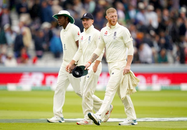 Ben Stokes (right) says Jofra Archer (left) is ready for another fiery Ashes outing.