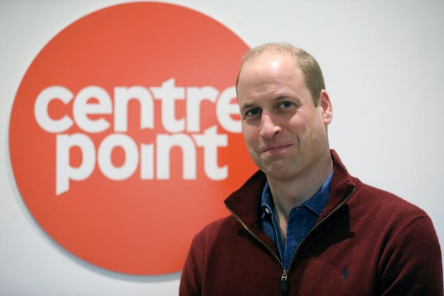The duke is patron of the Centrepoint which focuses on tackling homelessness among the young. Ben Stansall/PA Wire