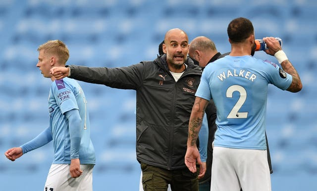 Pep Guardiola is looking to take Manchester City all the way in the Champions League