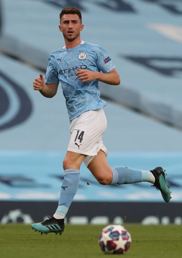 City defender Aymeric Laporte tested positive for coronavirus
