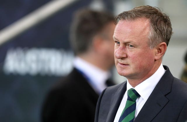 Northern Ireland manager Michael O'Neill was left to face up to another defeat (Brian Lawless/PA).