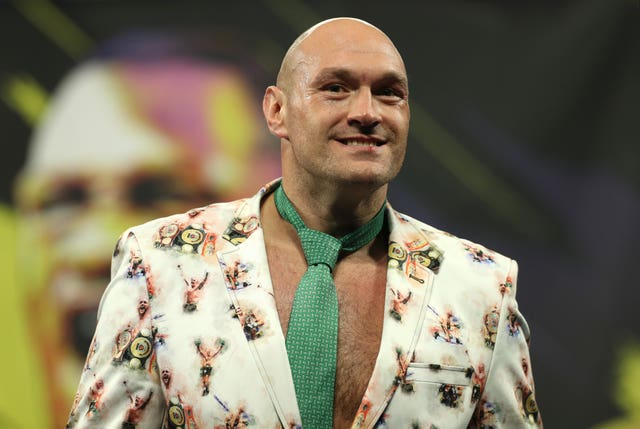 Fury is planning for a homecoming fight on December 5 (Bradley Collyer/PA)