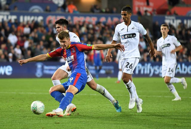 Crystal Palace striker Alexander Sorloth is on loan in Turkey