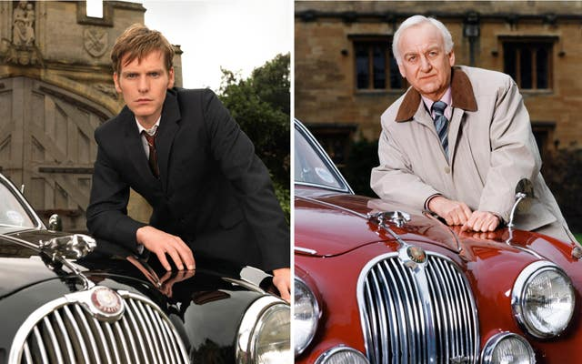 Shaun Evans, left, and John Thaw