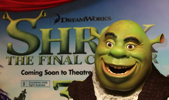 Shrek Forever After Celebrity Gala Screening – London
