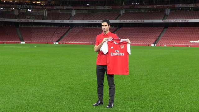 Mikel Arteta takes over an Arsenal side which have won just one of their last 12 games