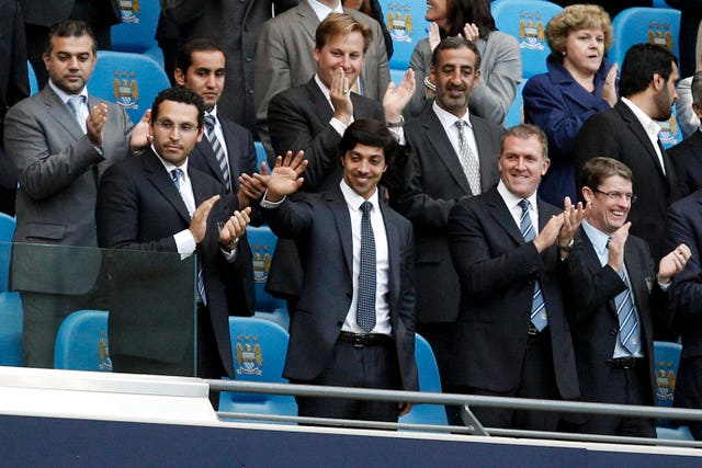 Manchester City owner Sheikh Mansour bought the club in 2008