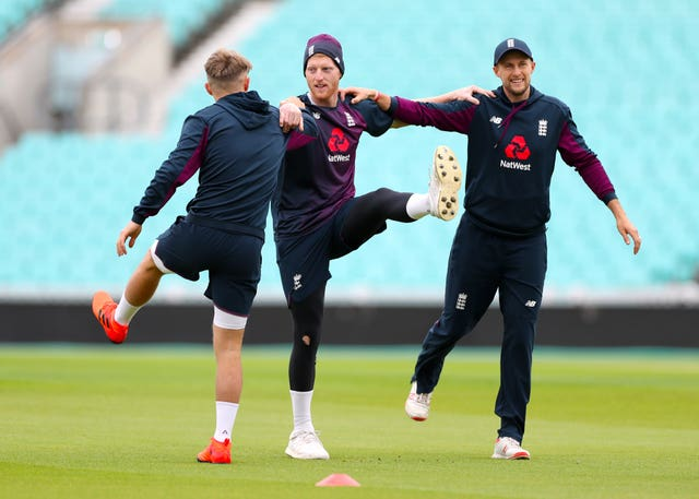 Ben Stokes (centre) believes club cricket should be back on the agenda.