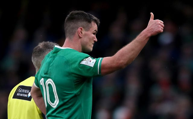 Ireland captain Johnny Sexton is expected to be fit to face Scotland next weekend