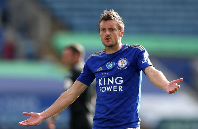 Vardy leads the race for the golden boot