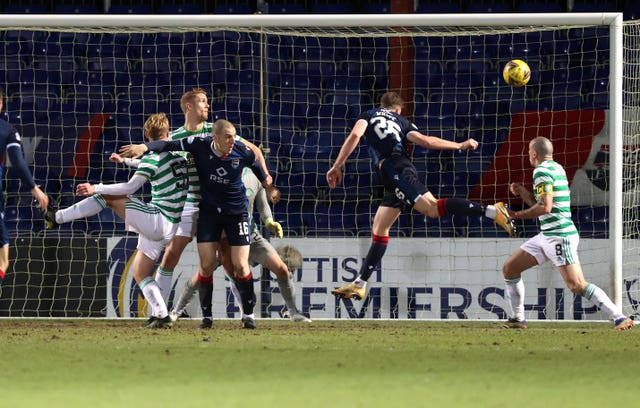 Jordan White scores for Ross County