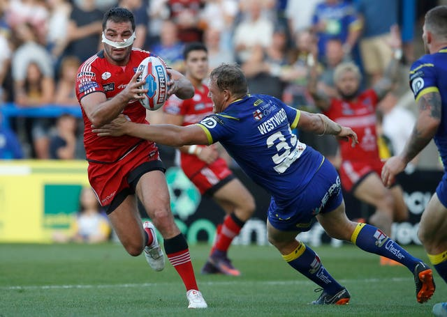 Warrington Wolves v Salford Red Devils – Betfred Super League – Halliwell Jones Stadium