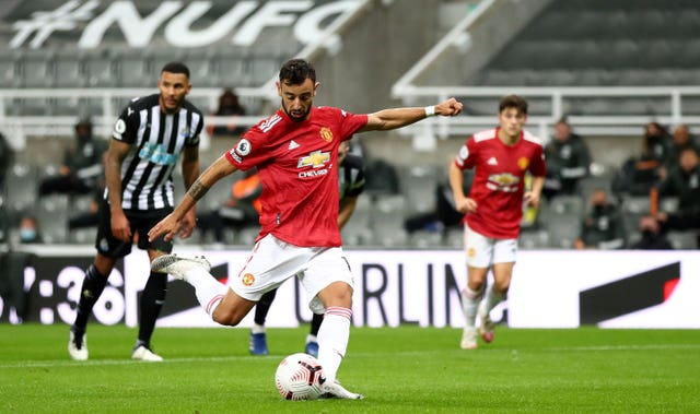 Manchester United won 4-1 at St James' Park in October (Alex Pantling/PA)