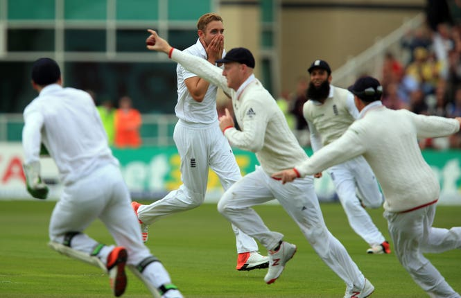 Stuart Broad's spell all but settled the series