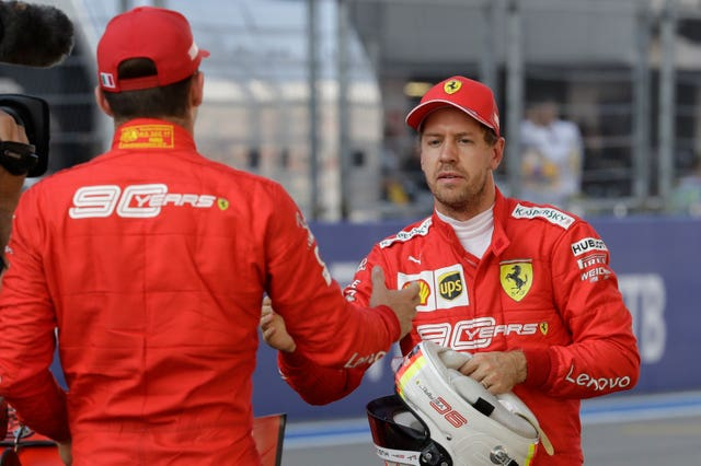 Ferrari have an issue with their team-mates