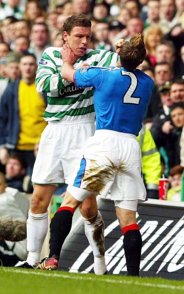 Fernando Ricksen had run-ins with Alan Thompson on and off the pitch