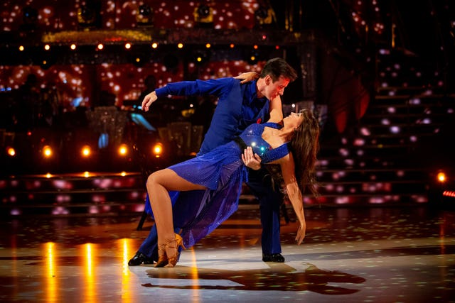 Anton Du Beke and Emma Barton