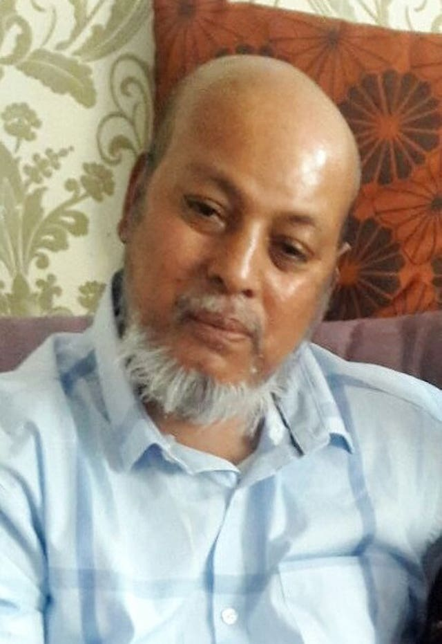 Makram Ali died as a result of multiple injuries (Metropolitan Police/PA)